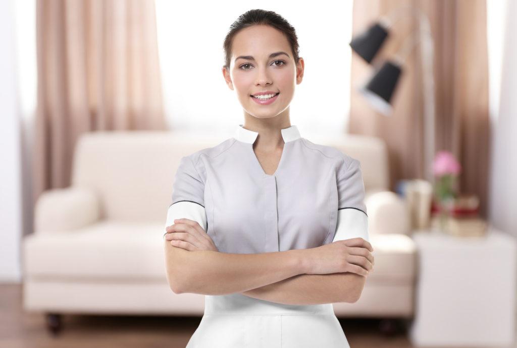 Zimmermaedchen Zimmermädchen der Firma Ö&I Clean GmbH
